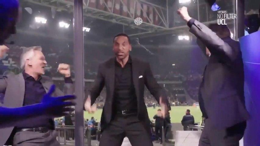 La nueva celebración de Lineker y Ferdinand tras la remontada del Tottenham