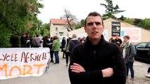 """""""Lycée mort… pour rester vivant"""" au Valentin, à Bourg-lès-Valence"""