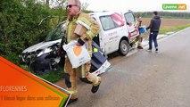 Florennes - un blessé léger dans une collision