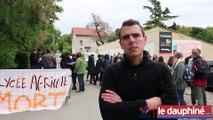Grève «  lycée mort… pour rester vivant » au Valentin, à Bourg-lès-Valence