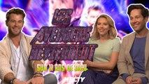 Avengers Endgame - 11 ans de MCU avec Chris Hemsworth, Scarlett Johansson et Paul Rudd