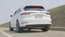 VÍDEO: Este Porsche Cayenne suena como un ¡coche de competición!