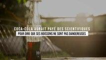 Coca-Cola aurait payé des scientifiques pour dire que ses boissons ne sont pas dangereuses