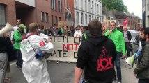 Mons: la marche pour le climat a débuté dans une chaude ambiance
