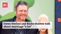 Blake Shelton And Gwen Stefani Have A Lot To Discuss