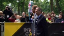New dad Prince Harry presented with Invictus Babygro