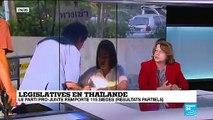 Législatives en Thaïlande : le parti pro-junte remporte 115 sièges (résultats partiels)