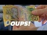 Plus de 2 milliards de dollars australiens ont été distribués... avec une faute