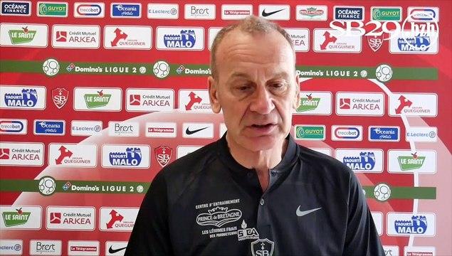 Brest - Niort | Conférence de presse d'avant-match
