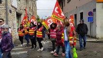 Manifestation des fonctionnaires à Bourg-en-Bresse