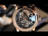 Louis Moinet Saat - Black Gold Oil Derrick Watch Baselworld 2016