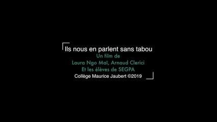 #NonAuHarcèlement2019 vidéo du collège Maurice Jaubert de Nice