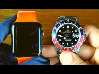 Akıllı Saat Vs Mekanik (Apple Watch VS Rolex)