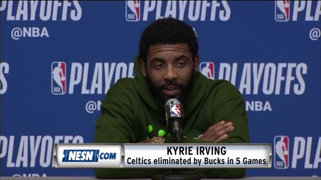 Kyrie Irving Celtics vs. Bucks ECSF Post-Series Press Conference