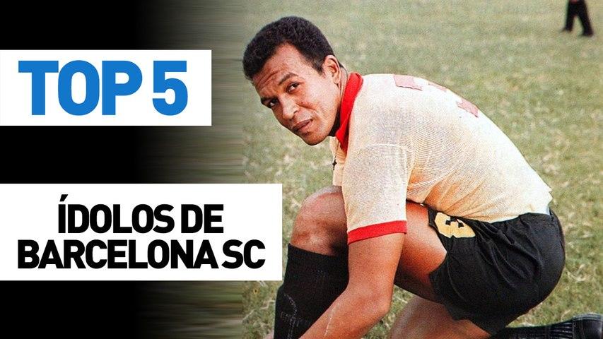 Top 5 ídolos de Barcelona