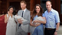 Meghan and Kate's Post Birth Appearances: A Comparison