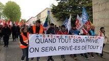 Lorient. 1 300 fonctionnaires manifestent dans les rues jeudi 9 mai
