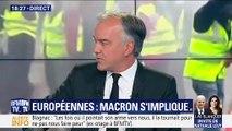 Européennes: Emmanuel Macron s'implique