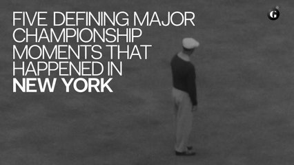 Five Defining Major Championship Moments That Happened in New York