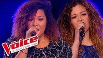 Zaz – Éblouie par la nuit | Maliya Jackson VS Carole Anne | The Voice France 2015 | Battle