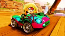 "CRASH TEAM RACING NITRO FUELED ""Personnalisation"" Bande Annonce"