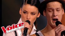 Joe Cocker – Unchain My Heart | Max Blues Bird VS Robinne Berry | The Voice France 2015 | Battle