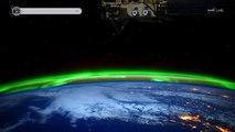 La vuelta al mundo montados en la Estacion Espacial Internacional