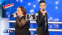 The Voice │Aubin VS Samira - The Scientist (Coldplay)│Battle