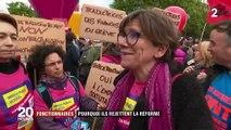 Fonctionnaires : 108 000 manifestants selon le ministère de l'Intérieur