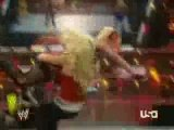 Wwe raw 14.01.2008 part 3 Beth, Melina & Jillian vs Mickie,