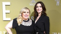 'The Hustle' Stars Anne Hathaway & Rebel Wilson Argue Over Who Bought The Outdoor Furniture From Set