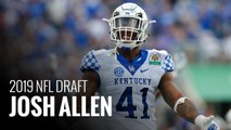 Josh Allen finds inspiration in fatherhood as he preps for NFL Draft