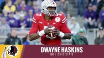 2019 NFL Draft: Washington Redskins draft Dwayne Haskins