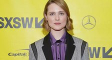 Evan Rachel Wood is speaking in front of the California senate today to promote what could be a revolutionary bill for victims of domestic abuse