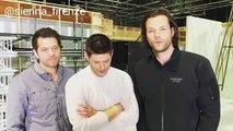 Supernatural Cast Jared Padalecki, Jensen Ackles and Misha Collins Message