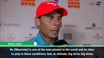 I will need to raise my game against Wawrinka - Nadal