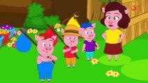 Les 3 Petits Cochons + 3 Comptines avec Le Petit Chaperon Rouge |  les