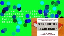 Review  Strengths Based Leadership: Great Leaders, Teams, and Why People Follow: A Landmark Study