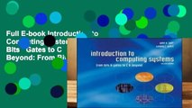 Full E-book Introduction to Computing Systems: From Bits   Gates to C   Beyond: From Bits and