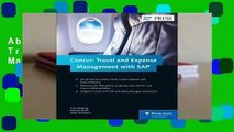 About For Books  Concur: Travel and Expense Management with SAP  Best Sellers Rank : #2