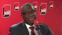 """Pour Denis Mukwege, la position des Etats-Unis sur les femmes victimes de viol lors de conflits armés est """"idéologique""""."""