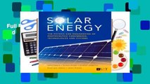 Full E-book  Solar Energy: The Physics and Engineering of Photovoltaic Conversion, Technologies