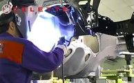 Car electronic measuring system NAJA by Celette, car frame machine, car universal jig system