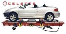 Car frame machine CELETTE GRIFFON 2800 - GRIFFON VB, car measuring system, car universal jigs