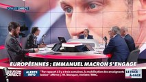 Brunet & Neumann : Emmanuel Macron s'engage aux élections européennes - 10/05