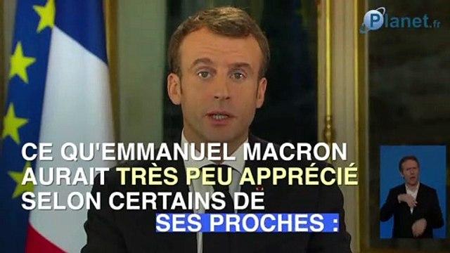 Emmanuel Macron recadre Christophe Castaner