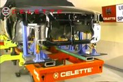 Car frame machine Celette Griffon, with MZ jig system universal or dedicated, car measuring syst