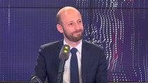 """Le Rassemblement national en tête aux européennes : """"ce serait un échec pour la France"""", estime Stanislas Guerini"""