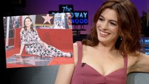 Anne Hathaway Just Got A Hollywood Walk Of Fame Star