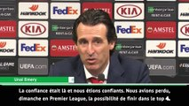 """Emery : """"Nous sommes heureux mais la finale sera difficile"""""""